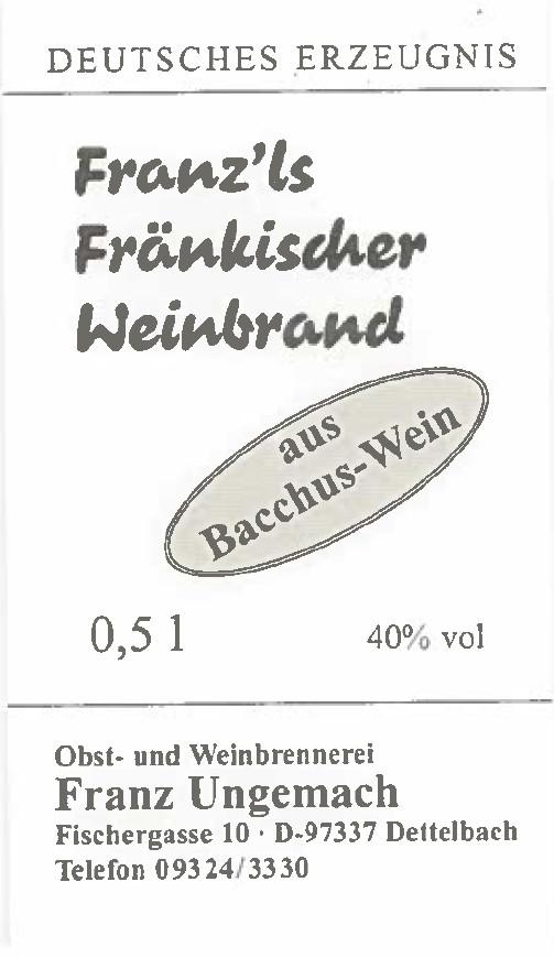 Franz. Weinbrand